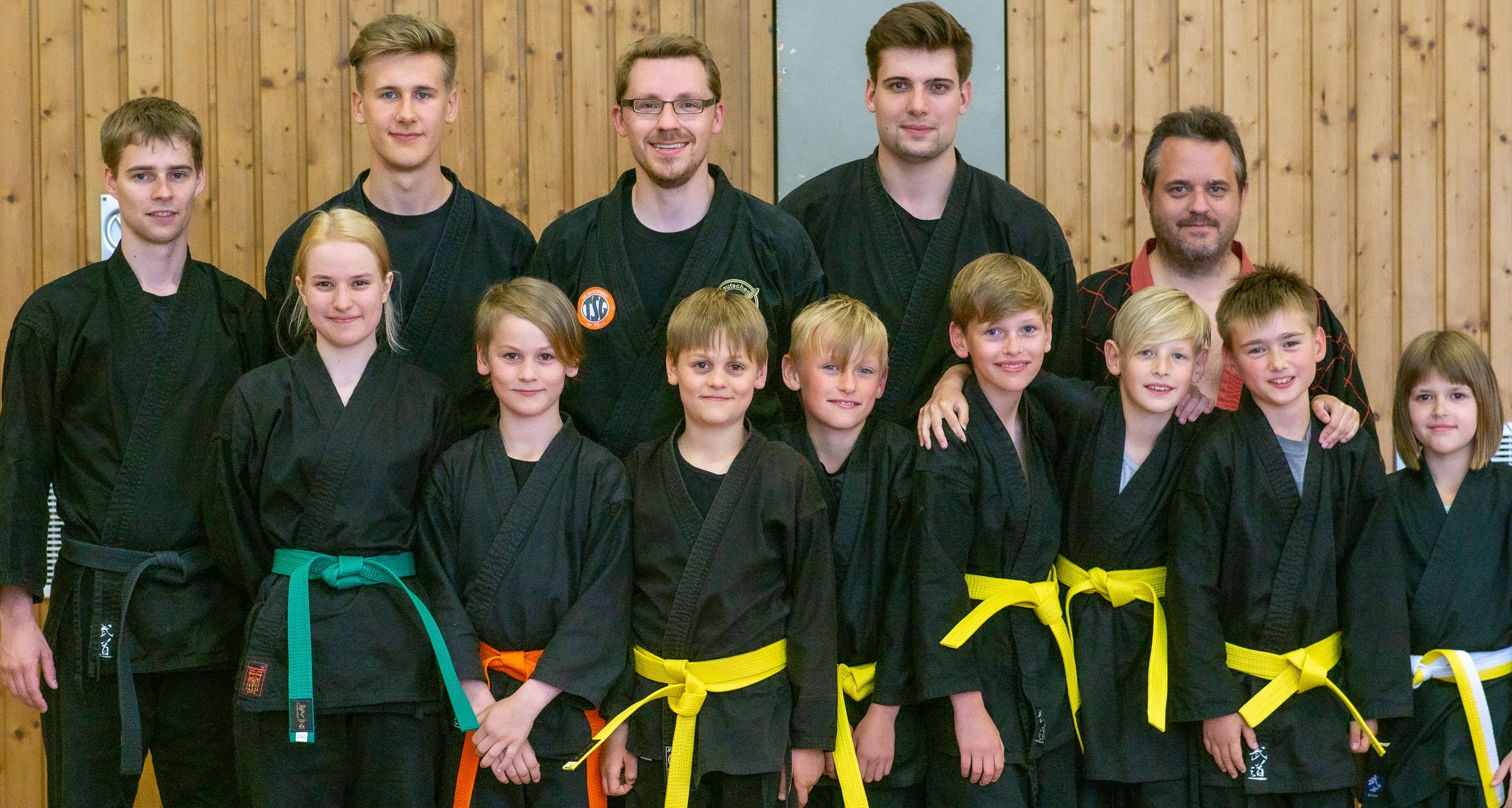 Hapkido<br>Prüfung in Clarholz