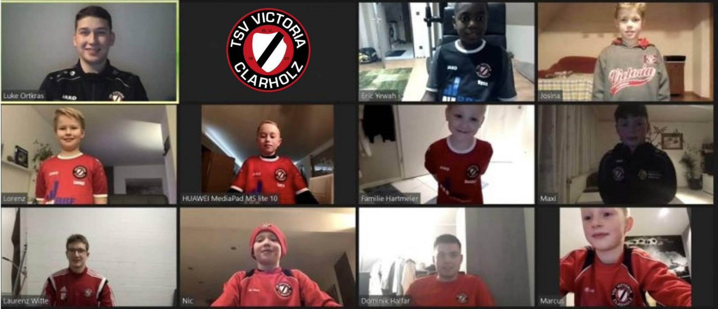 Fußball<br>Fußballjugend online aktiv