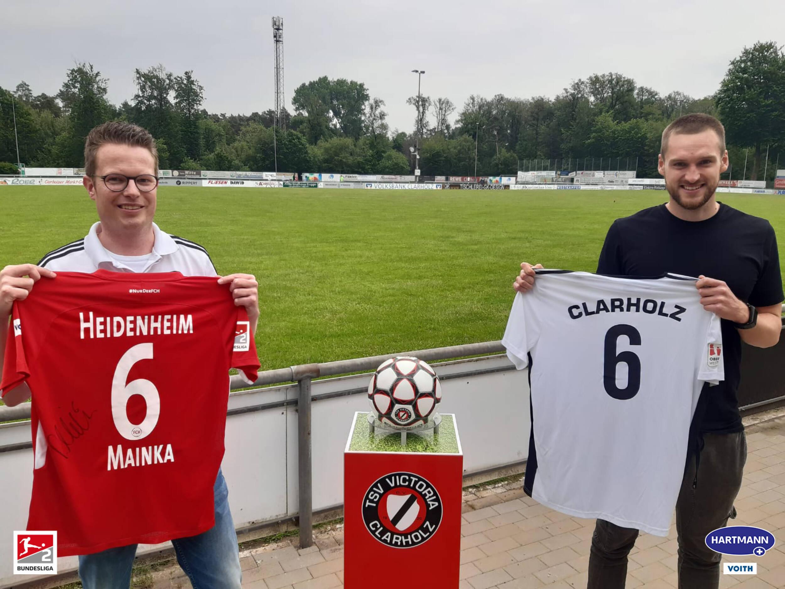 Fußball<br>Patrick Mainka zu Besuch
