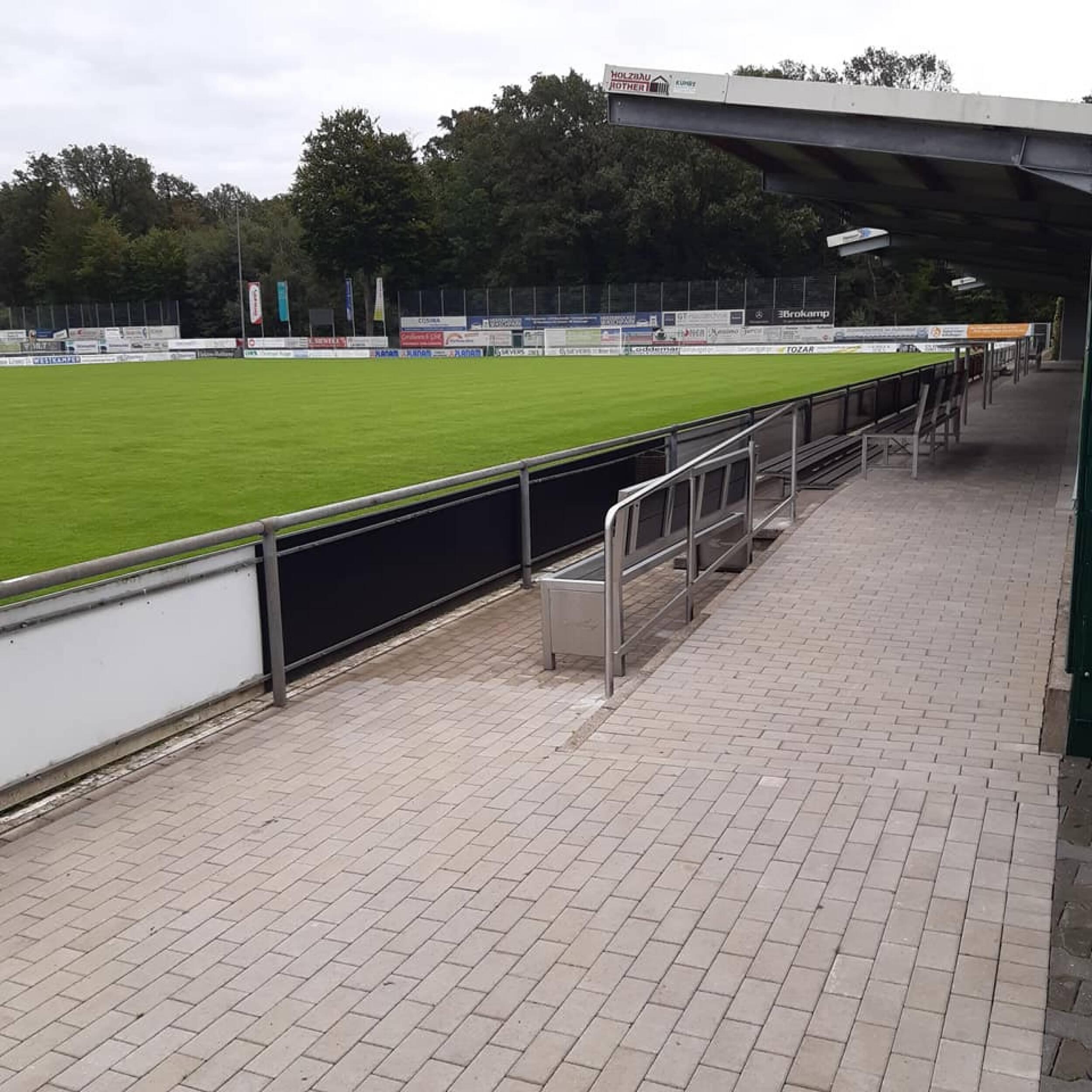 Holzhofstadion weiter modernisiert!